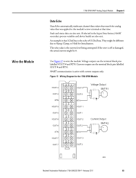 wire the module data echo rockwell automation 1756 of8h wire the module data echo rockwell automation 1756 of8h controllogix hart analog i o modules user manual page 83 228