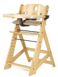 com keekaroo height right high chair with tray natural childrens highchairs baby