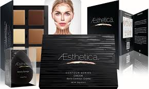 contour makeup kit. aesthetica cosmetics cream contour and highlighting makeup kit (multiple options):