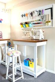 sewing room pegboard ideas craft sewing room makeover home decor budget  decorating sewing room teaching ideas