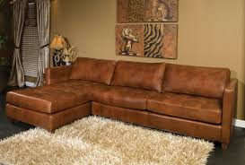 Decorating Danilo Sectional Sofa By Omnia Leather In Brown With