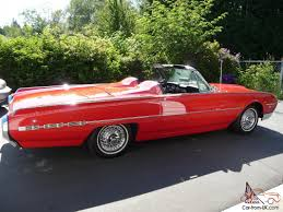 Ford Thunderbird Convertible Sports Roadster