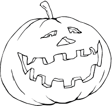 Small Picture Scary Halloween Pumpkin Coloring Pages Preschoolers Free