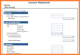 excel income statement 9 personal income statement template excel statement synonym