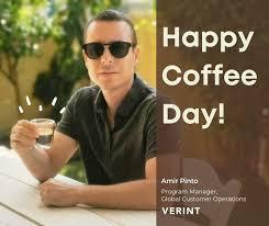 Verint Cyber Intelligence - <b>Happy Coffee Day</b>, Amir! | Facebook