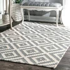 cherine modern gray area rug wool grey contemporary with regard to hand woven furniture likable t