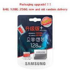 Sản Phẩm Mới Chính Hãng SAMSUNG EVO + Thẻ Nhớ 64GB EVO Plus U3 128GB 256GB  Class10 Micro SD 32GB 16G MicroSD UHS I Thẻ TF|original samsung evo