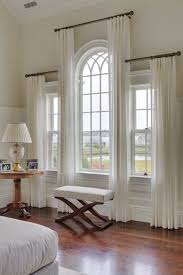 Arched window curtain rod curtains for windows best 25 ideas on 2 original  vision treatments arch