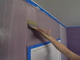 apply base coat of flax latex paint