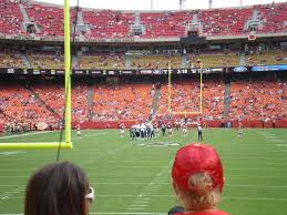Chiefs Seating Chart With Rows Arrowhead Stadium Section 128 Row 11 Seat 3 Kansas City