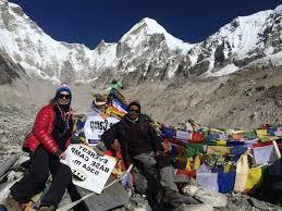 11 days short everest base c trek himan recreation treks expedition pvt ltd