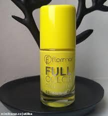 žlutý Lak Na Nehty Gelový Full Color