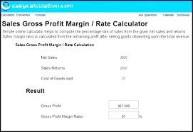 Profit Loss Percentage Calculator