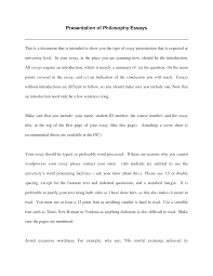 example philosophy essay template example philosophy essay