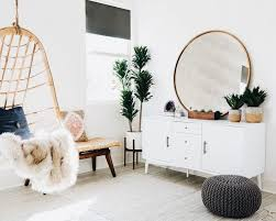planters console table lovely round mirror hanging chair fur throw console knit pouf