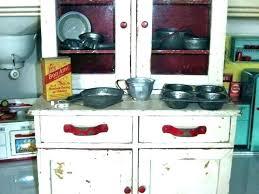 vintage metal kitchen cabinets for antique