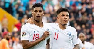 Rashford was one of three england. Watch Rashford And Sancho Showcase Skills Together During England Training Planet Football