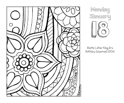 Posh Coloring 2016 Day To Day Calendar For Fun Relaxation