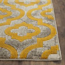 safavieh elaine woven rug light grey and yellow mediterranean area rugs by plushrugs