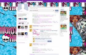 Monster High Facebook Layouts Monster High Facebook Themes Monster