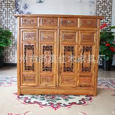 Ming Qing classical Chinese antique furniture elm retro shoe four