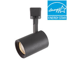 black track lighting. Black LED Dimmable Cylinder Track Lighting Head G