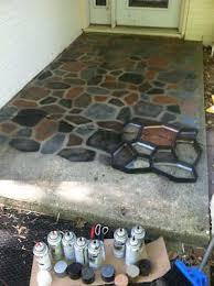 concrete patio concrete path