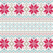 Christmas Fair Isle Knitting Pattern Christmas Fair Isle
