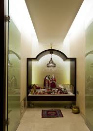 Mandir Designs In Living Room Pooja Room Design By Architect Rajesh Patel Consultants Pvt Ltd