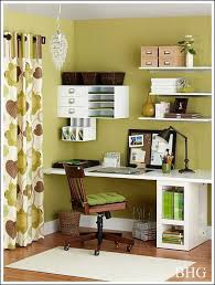 Bedrooms  Alluring Bedroom Office Decorating Ideas Home Design Small Office Room Design Ideas