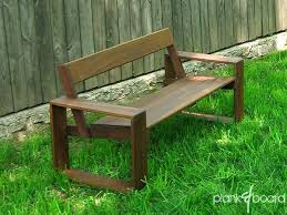 rustic benches with backs innovative outdoor wood furniture inside plans 3 bench back