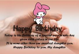 Happy Birthday Quotes For Daughter Amazing 48 Best Happy Birthday Quotes And Sentiments For Daughter Quotes Yard