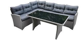 evre rattan 4 piece patio furniture set