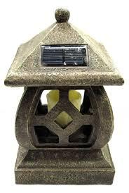 Malibu Pagoda Lights Malibu Pagoda Solar Garden Lamp