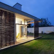 Modern Concrete House Plans 146 M2 Modern Two Bedrooms House Concrete Rectangular Architecture