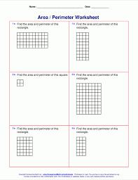Math Worksheets Area And Perimeter 4th Grade Free 6th Printable ...