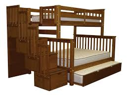 Bunk Beds Twin over Full Stairway Expresso | Trundle | $785
