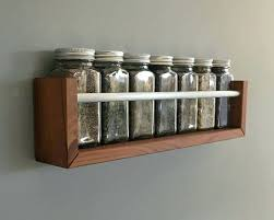 Wooden Spice Rack Wall Mount Beauteous Wall Spice Rack Rustic Spice Rack Wall Spice Rack Wood Home And Racks