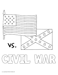 Coloring Pages American Civil War History Volume Cycle Coloring Pages