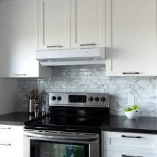 home depot kitchen backsplash smart tiles metro carrera 11 56 in w x 8 38 h gray