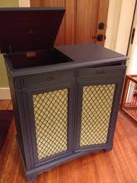 Cabinet Record Player Vintage Record Player The Paris Avenue House