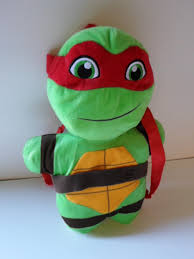 pluche rugzak ninja turtles 36 cm prijs per stuk