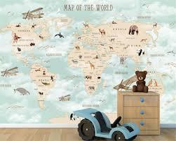 Goede Kopen Beibehang Custom Kinderkamer Muur 3d Behang Cartoon
