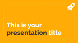 Powerpoint Backgrounds Yellow Simple Powerpoint Template Or Google Slides Theme With