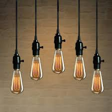 ceiling lights hanging light bulb kit tulum smsender co with fascinating pendant bulb