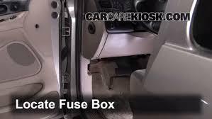 interior fuse box location 1995 1998 ford windstar 1996 ford 98 windstar fuse panel at 98 Ford Windstar Fuse Box