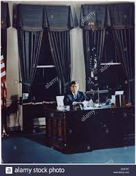 white house oval office desk. Portrait Of President Kennedy At His Desk. White House, Oval Office 194203 House Desk T