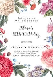 Invitaciones Para Cumpleaños De Mujeres Gratis Greetings Island