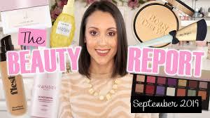 The Beauty Report! September 2019 - YouTube