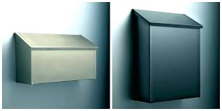modern wall mount mailbox. Modren Wall Modern Wall Mailbox Home Depot Mount Mounted Mailboxes  Astounding For Your And
